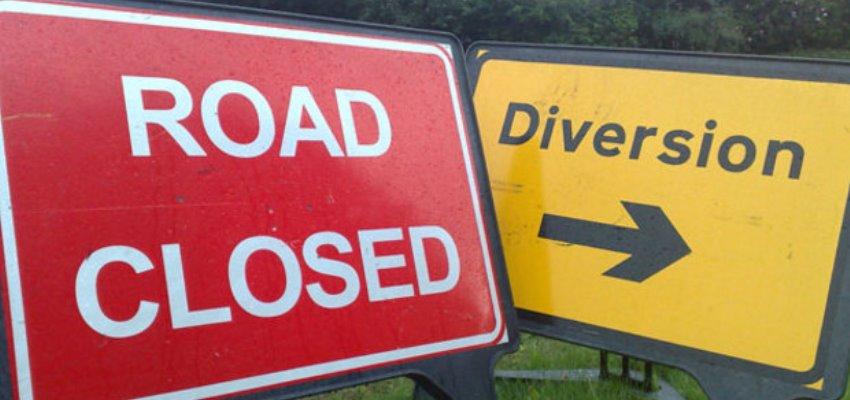 Road Closure - Roman Way