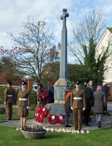 Remembrance event. Photographed by Stuart Bain.